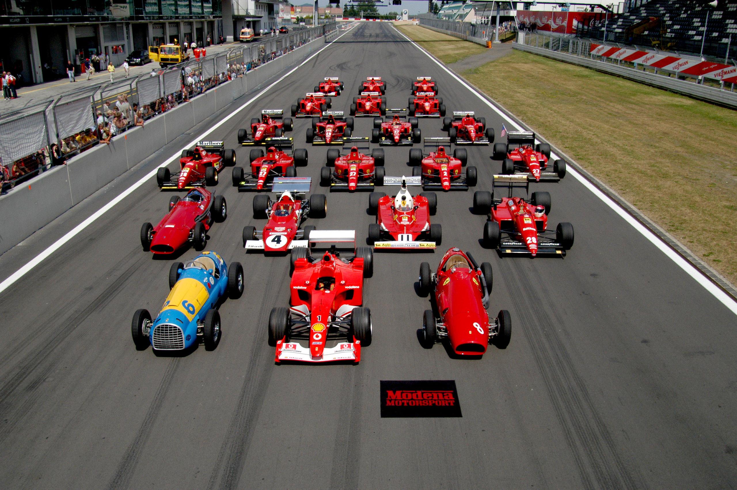 Herencia de la Fórmula 1